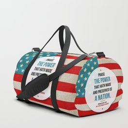 Preserved us a Nation Duffle Bag