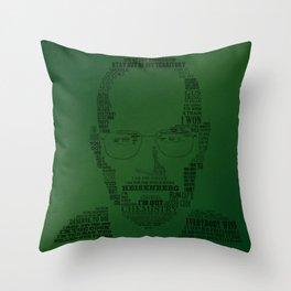 Breaking Bad:  Walter White Throw Pillow
