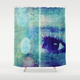 The Glaring Sea Shower Curtain