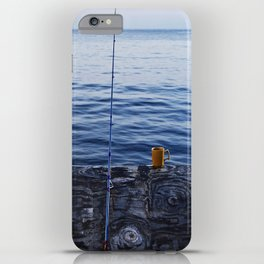 Sunrise Fishing  iPhone Case