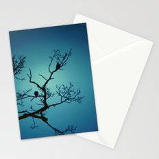 Pigeon Silhouette  Stationery Cards