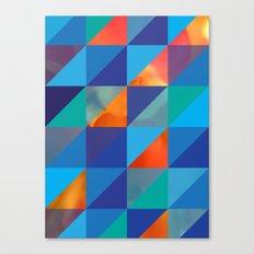 Triangles 4 Canvas Print