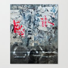 Urban Archaeology No. 37 Canvas Print