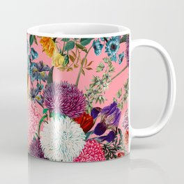 Floral Pink Pattern Coffee Mug