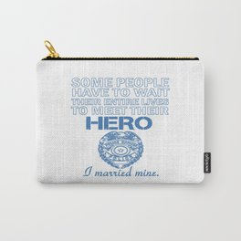 Police Officer's Wife Carry-All Pouch