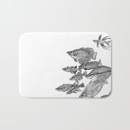 Rainbowfish and Relatives Bath Mat