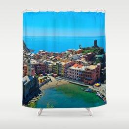 Sinke Terre, Italy Shower Curtain