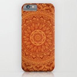 Mandala Spice iPhone Case