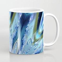 Thinking of You Blue Kaleidoscope Coffee Mug