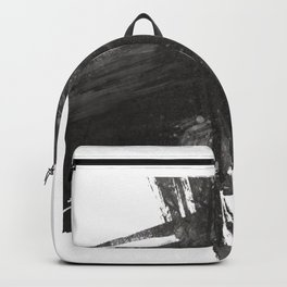 """Forest Cross"" - Abstract Print Backpack"