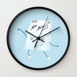 Milkshake Wall Clock