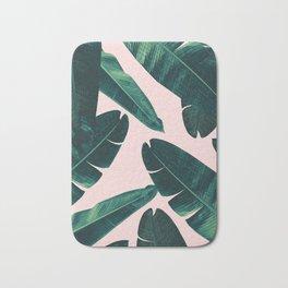 Banana Leaves - Cali Vibes #1 #tropical #decor #art #society6 Bath Mat
