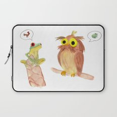 The story of the Chicken Frog Laptop Sleeve