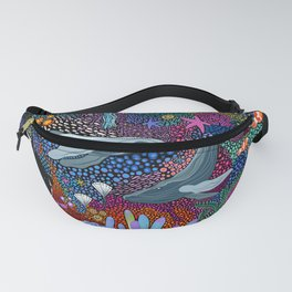 Whale Ocean Life Fanny Pack