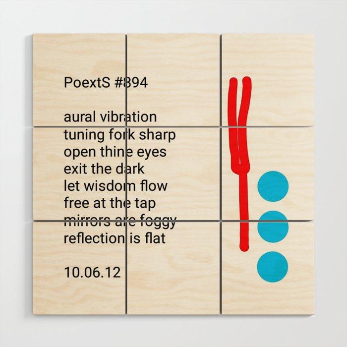 PoextS #894 Wood Wall Art