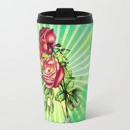 Convergency: Rose from a Lilypad Travel Mug
