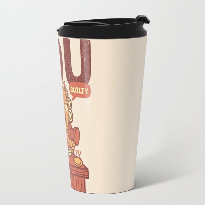 I'm Judging You Cat T-Shirt Travel Mug