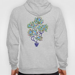 Bonsai Fruit Tree – Blue Palette Hoody