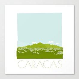 Caracas City by Friztin Canvas Print