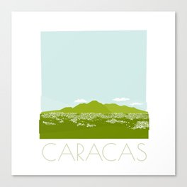 Caracas City by Friztin Canvas Print