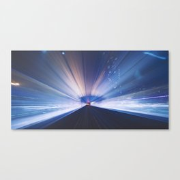 METRO NIGHTS Canvas Print