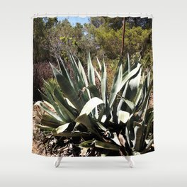 agave 01 Shower Curtain
