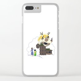 appa taxi Clear iPhone Case