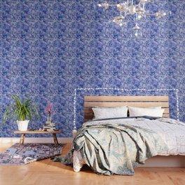 Watercolour Hydrangea Wallpaper