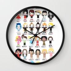 POP ROBOTICS Wall Clock