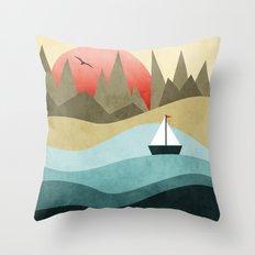 Ocean Adventure 2  Throw Pillow