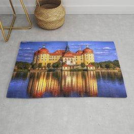Amazingly Elgant Historic Schloss Moritzburg Germany Europe Ultra HD Rug