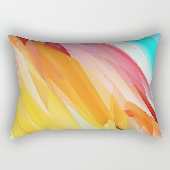 Abstract 2017 028 Rectangular Pillow
