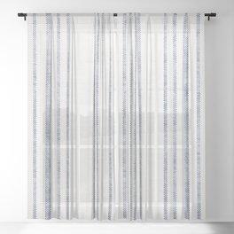 AEGEAN MULTI STRIPE Sheer Curtain