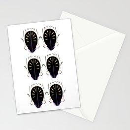 Luxury ornaments blackwhite Stationery Cards