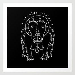 NICE PET Art Print