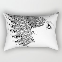 Lady Icarus Rectangular Pillow