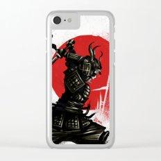Samurai Invader Clear iPhone Case
