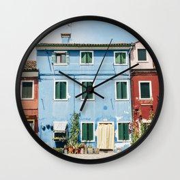 Burano, VII Wall Clock