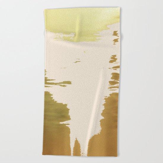 Blush Gold #society6 #decor #buyart Beach Towel