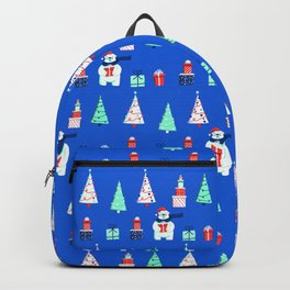Polar Bears, Christmas Trees, and Presents! (Pattern) Backpack