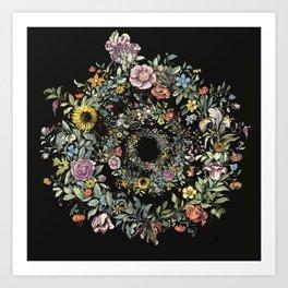 Circle of Life Dark Art Print