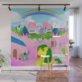 g1 my little pony dreamvalley Wall Mural