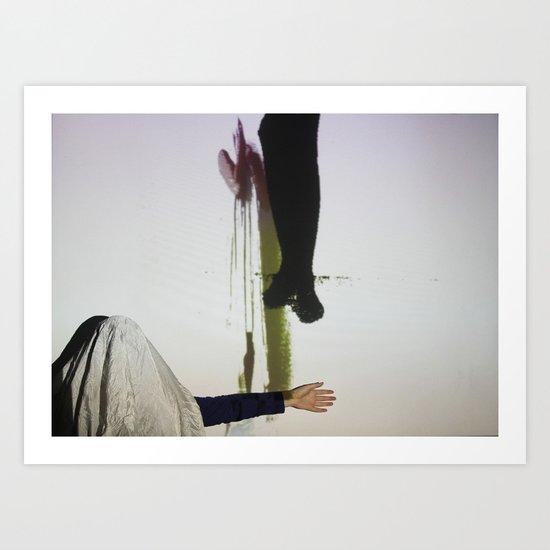 DropArt & Shirly @BYOB TelAviv #04 Art Print