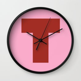 T is for... Wall Clock