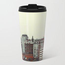Sao Paulo Skyline I Metal Travel Mug