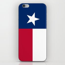 Texas: State Flag of Texas iPhone Skin