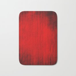 Dark Red Texture Bath Mat