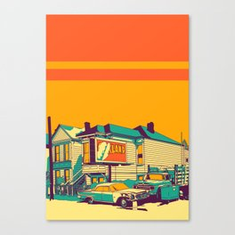 Oakland Canvas Print