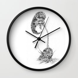 Regeneration (part of the Strange Plants series) Wall Clock