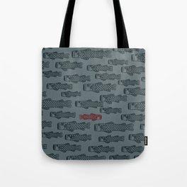 My Way Pattern Tote Bag